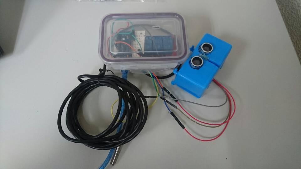Controlador con arduino club acuarios marinos
