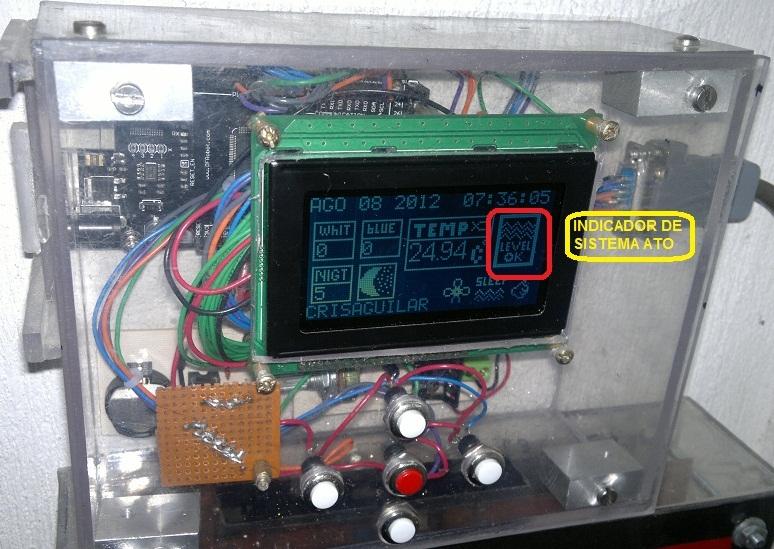 Sistema de llenado automático ato controlado por arduino